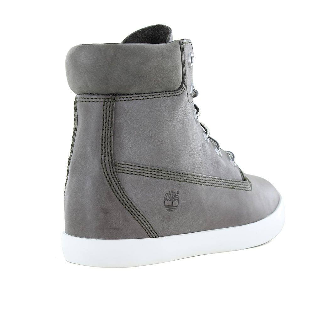 Timberland ® A179Z Womens Padded Collar 6-Eyelet Internal Wedge Boots -  Slush Grey 00da904a5a