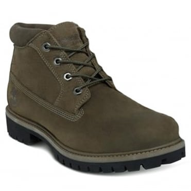 Timberland A1M63 Mens Leather Waterproof Chukka Boots - Canteen