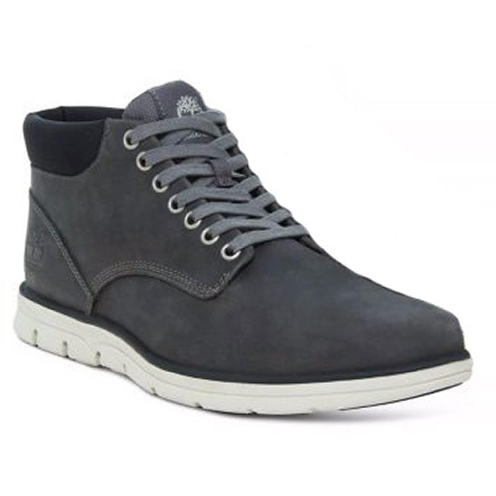 moda ograniczona guantity najtańszy Bradstreet A1K52 Mens Padded Collar Chukka Boots - Pewter
