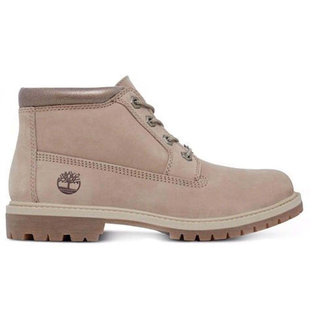 Timberland Nellie A1K90 Womens Waterproof Chukka Boots - Bone 90b81667f