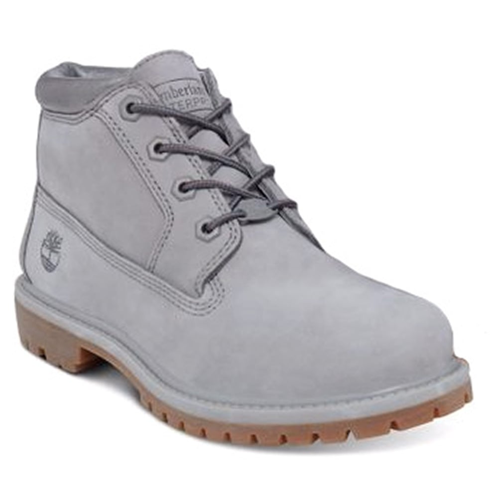 eb16bb764257 Timberland Nellie A1K9D Womens Waterproof Chukka Boots - Steeple Grey