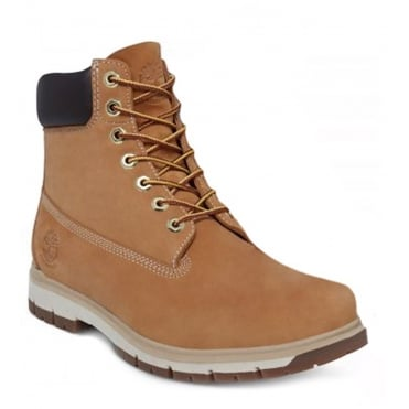 Timberland Radford A1JHF Mens Padded Collar Waterproof Boots - Wheat Yellow