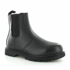Tradesafe Diran Mens Steel Toe Cap Chelsea Boots - Black
