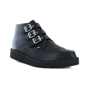 TUK A9325 Unisex Vegan Creeper Boot - Black