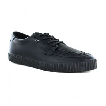 TUK A9366 Unisex Vegan EZC Creeper Shoes - Black