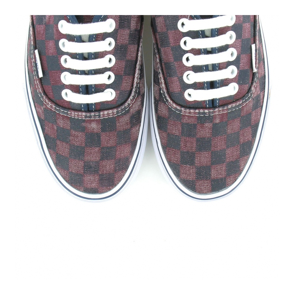 Vans Authentic Van Doren VN-0 TSV8X9 Unisex Check Skate Shoes - Port Royal   amp c32cc2dba