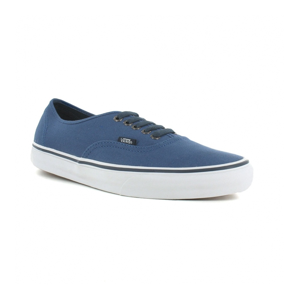 d93037ab46 Vans Authentic VN-0 TSV9G2 Mens Canvas Skate Shoes in Dark Blue at ...
