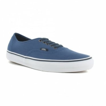 Vans Authentic VN-0 TSV9G2 Mens Canvas Skate Shoes - Dark Blue