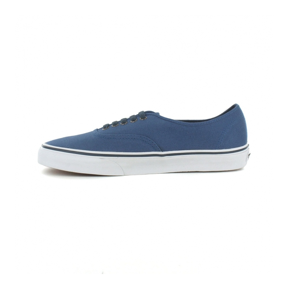 59f2c8786c Vans Authentic VN-0 TSV9G2 Mens Canvas Skate Shoes in Dark Blue at ...