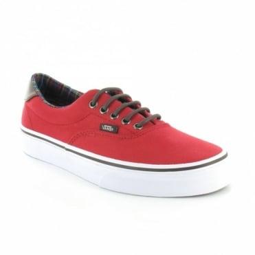 Vans Era 59 EXD66I Mens Canvas Sneaker Shoes - Chilli Pepper Red
