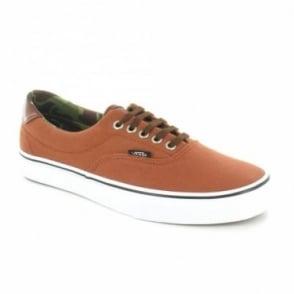 Vans Era 59 UC68IG Mens Canvas Sneaker Shoes - Ginger Bread Orange & Camo