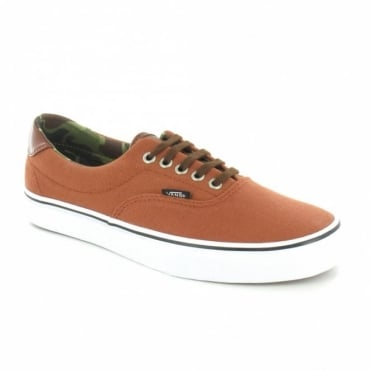 Vans Era 59 UC68IG Mens Canvas Sneaker Shoes - Ginger Bread Orange & Camo