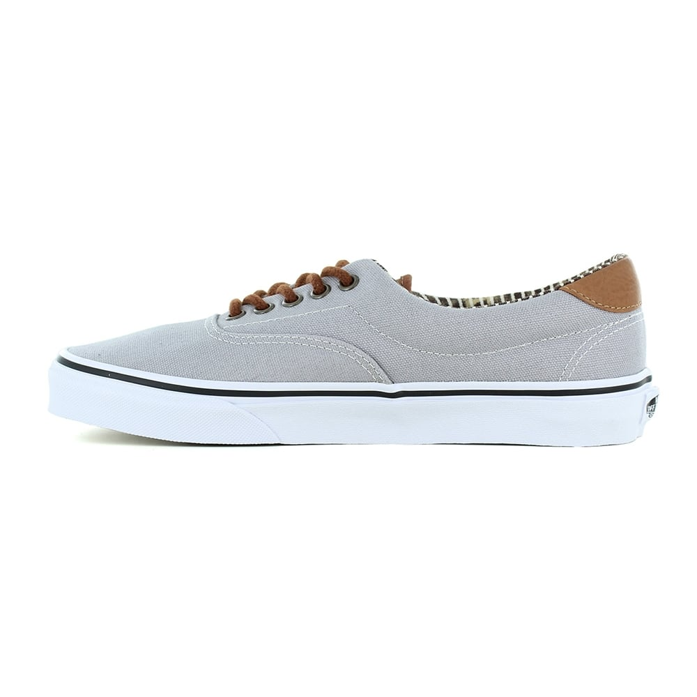 590f910587 Vans Era 59 VN0003S4IA7 Mens Canvas Skate Shoes - Silver Sconce And Stripe  Denim