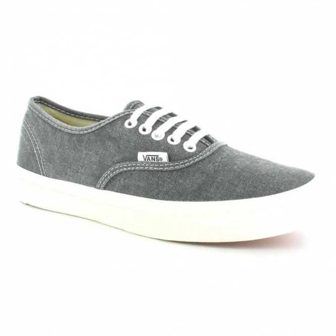 84176d541b Vans Authentic Slim Womens Classic Skate Shoes (VN-0 QEV4JT) - Washed Black