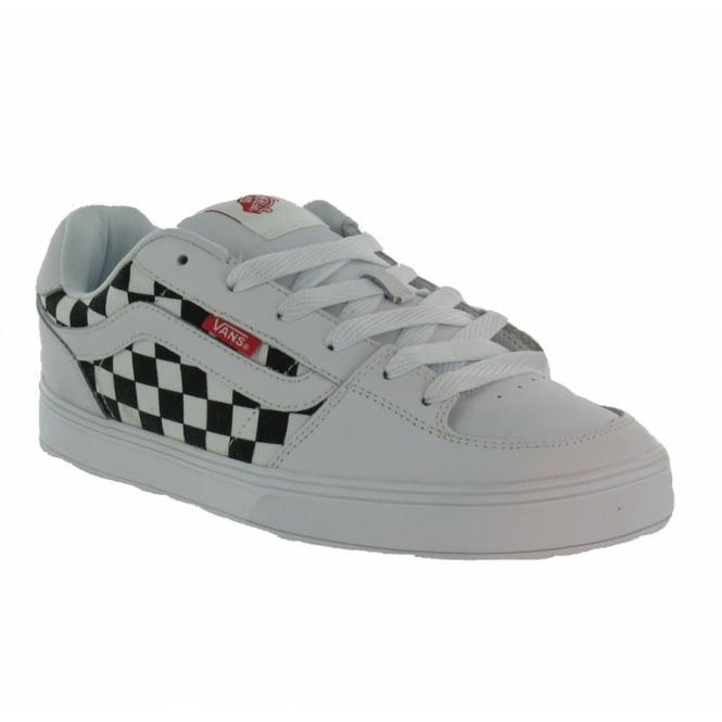 12cdc64960cad7 Buy Vans Bucky Lasek 4 Trainers - White + Black at Scorpio Shoes