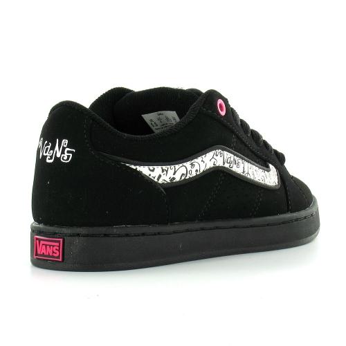 fe14879d55 Vans Darla Swirly-Vans Womens Skate Trainer Shoes - Black