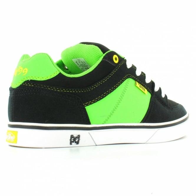 945c0f6412 Vans Rowley X Mens Skate Shoes - Black+Neon Green