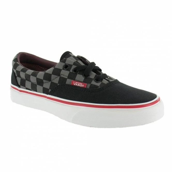 vans era skate shoe black