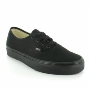 Vans Authentic Unisex 4-Eyelet Trainer Shoes - Black