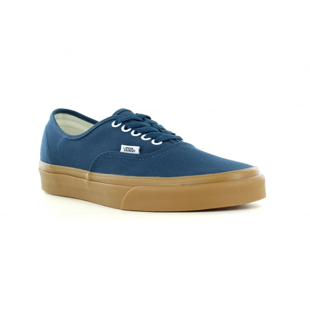 dc1cf8ae62a37 Vans VN0A38EMQ6O Authentic Unisex Canvas Skate Shoes - Reflecting Pond