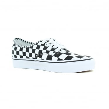 Vans VN0A38EMQ9B Authentic Unisex Canvas Skate Shoes - Mix Checkers