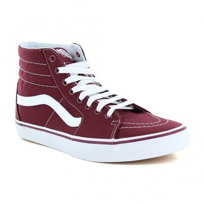 Vans VN0A38GEJX5 Sk8-Hi Unisex Canvas Skate Shoes - Port Royale Red