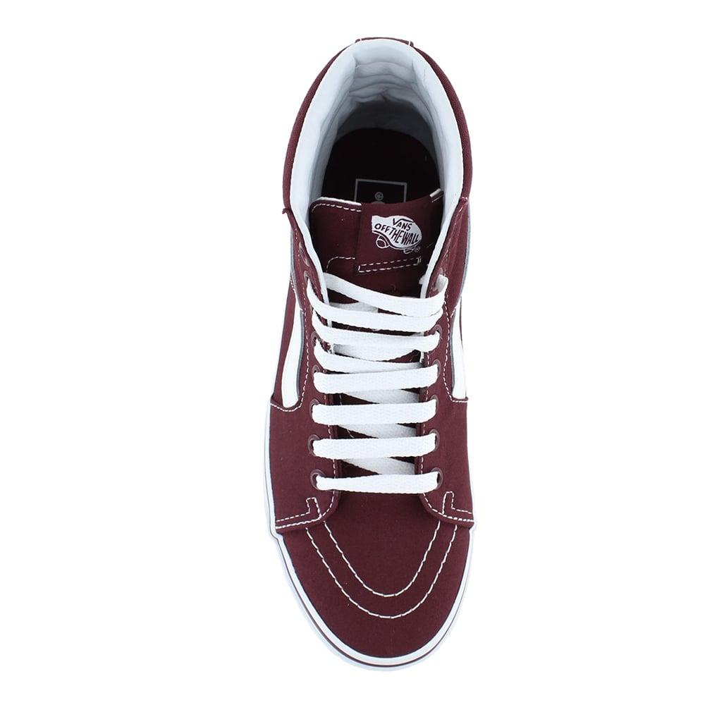 c398b2bf8d Vans VN0A38GEJX5 Sk8-Hi Unisex Canvas Skate Shoes - Port Royale Red