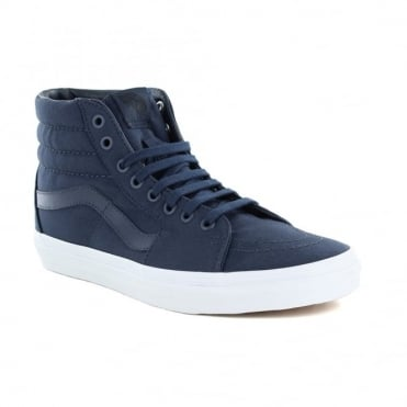 Vans VN0A38GEMX3 Sk8-Hi Unisex Canvas Skate Shoes - Dress Blues