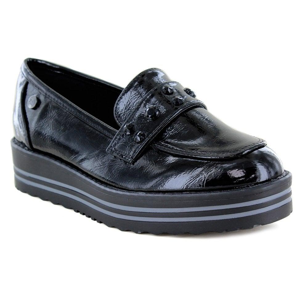 Black Shiny Patent Leather Women 65.00