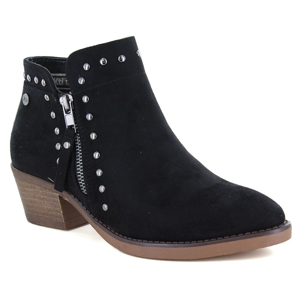 XTI 49473 Womens Ankle Boots - Black