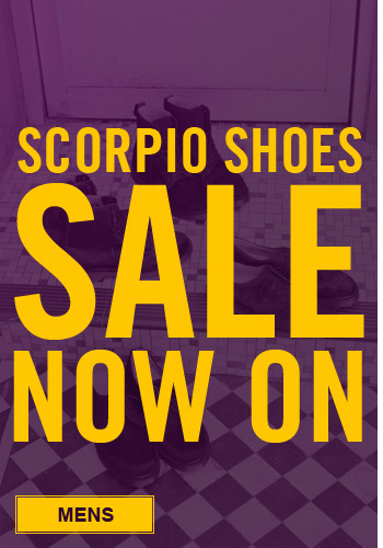 Scorpio Shoes men's sale now on - Up to 80% off